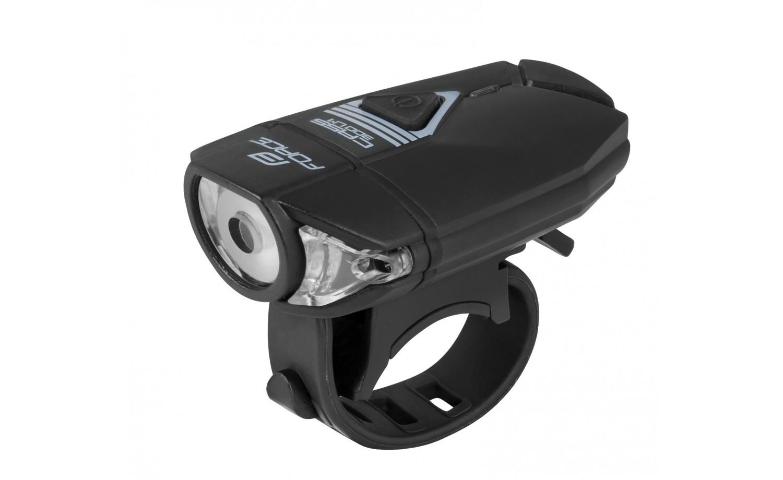 Přední světlo FORCE CASS 300lm USB černé