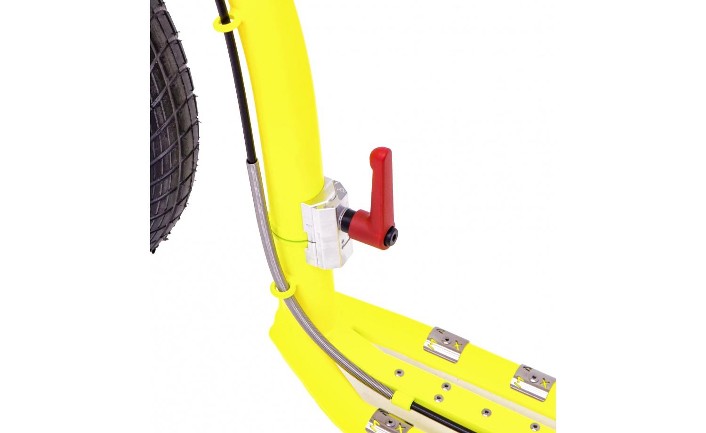 Skládací elektrokoloběžka KOSTKA e-REBEL MAX FOLD (E1)