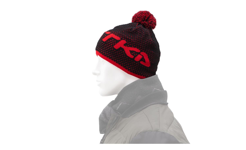 Zimní čepice KOSTKA černá