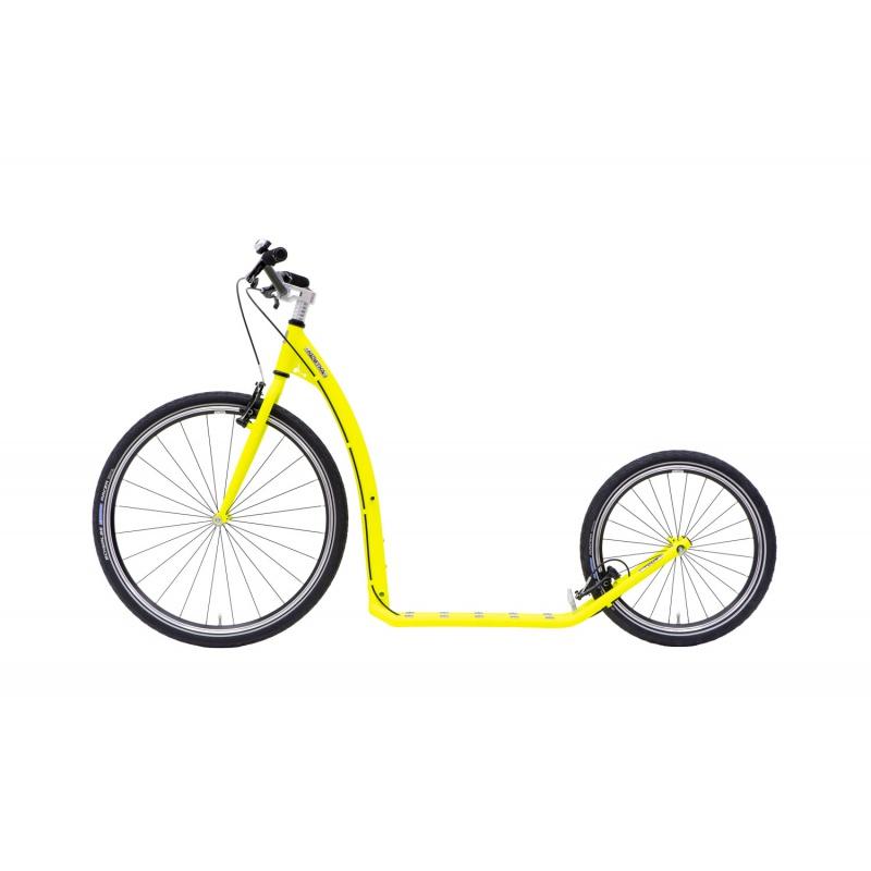 Koloběžka KOSTKA TOUR MAX (G6) Barva NEON Lemon