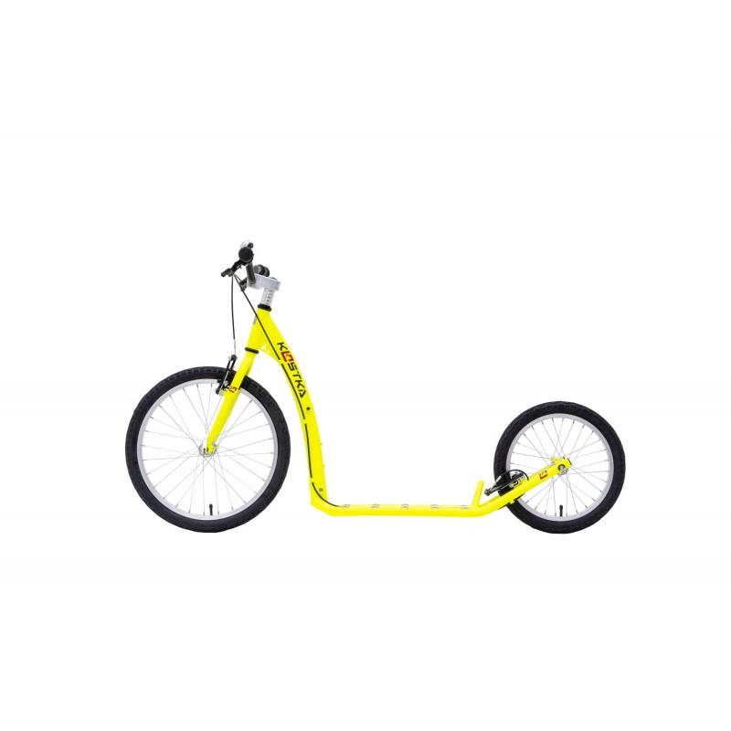 Koloběžka KOSTKA HILL FUN KID (G5) Barva NEON Lemon