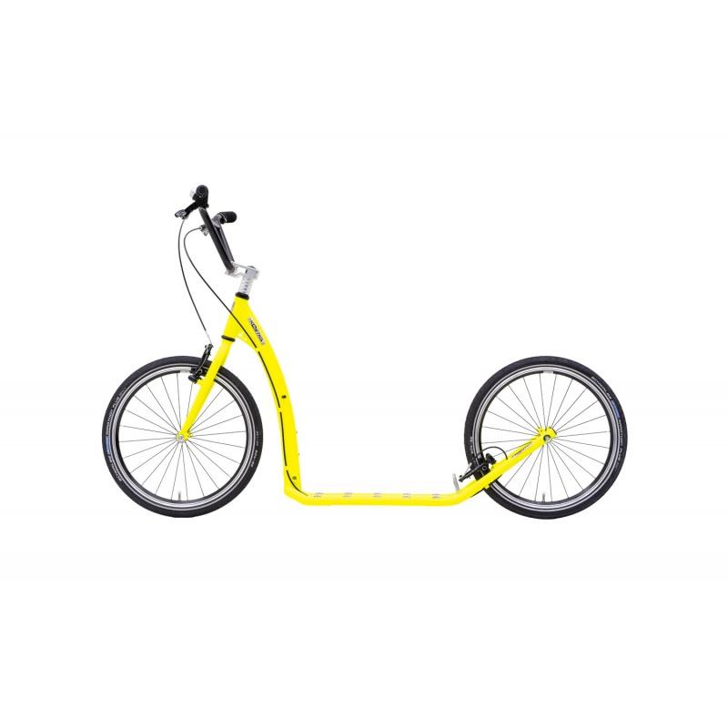 Koloběžka KOSTKA TWENTY MAX (G6) Barva NEON Lemon